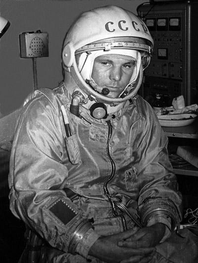 Лётчик-космонавт СССР Ю.А. Гагарин. 1961 г. РГАНТД. Арх. № 0-1796