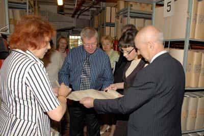 Экскурсия по Государственному архиву Курской области