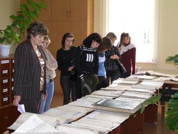 «День открытых дверей» в Центральном государственном архиве Самарской области