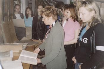 «День открытых дверей» в Сызранском филиале Центрального государственного архива Самарской области
