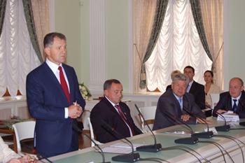 Президент Удмуртской Республики А.А. Волков