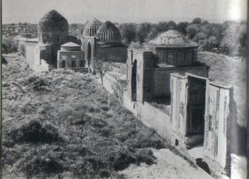 Самарканд. Шахи-Зинда. Средняя группа мавзолеев